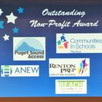 Renton Best Non-Profit business award 2016