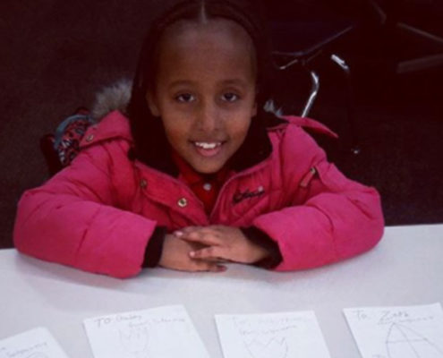 Second Grader Writes 34 Encouraging Cards - Meet Solyanna