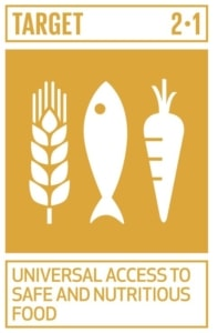 Universal access to safe and nutritious food